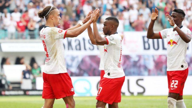 RBライプツィヒのフランクフルト戦kicker採点発表
