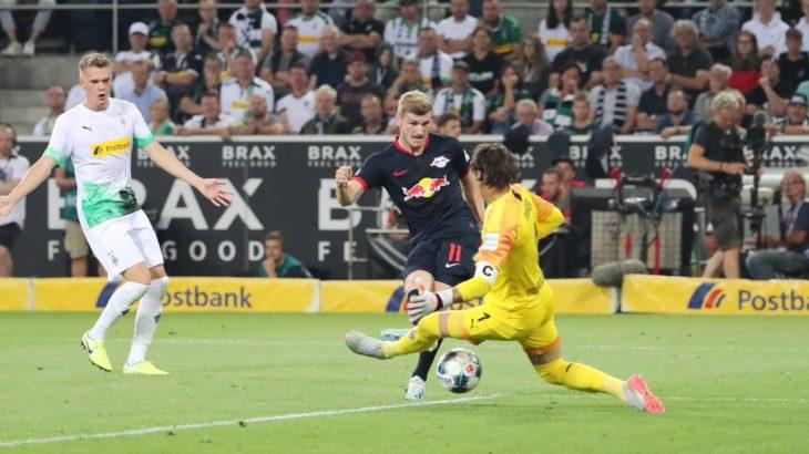 開幕3連勝! RBライプツィヒがヴェルナーのハットトリックでローゼのボルシアMGに勝利!(ハイライト動画あり)