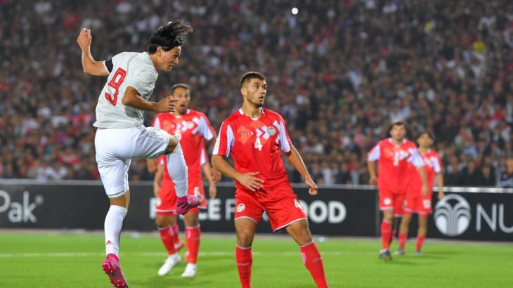 日本代表、タジキスタンに3得点勝利で首位キープ 南野今日もゴール、浅野復帰弾(ハイライト動画あり)