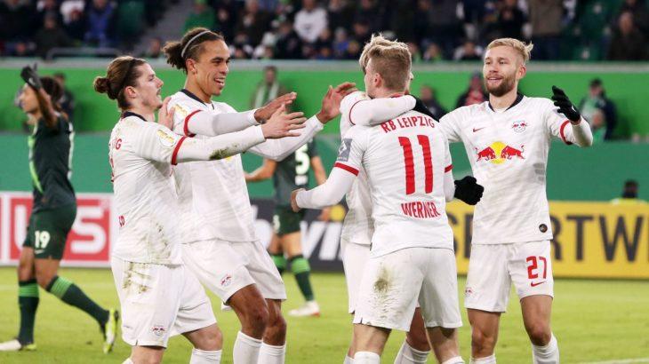 DFBポカールkicker採点:ヴォルフスブルク戦のRBライプツィヒ ライマーに最高評価