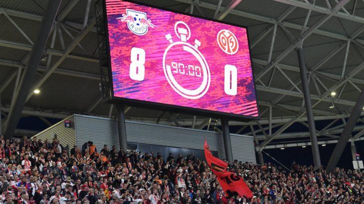 RBライプツィヒのマインツ戦kicker採点と今節のベストイレブン ヴェルナーに当然の最高評価