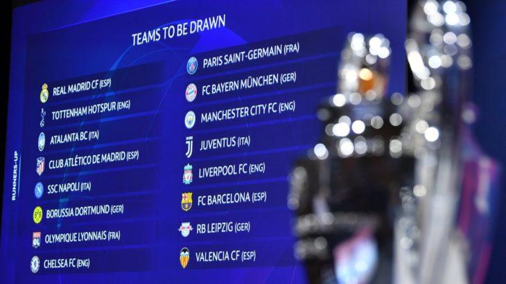 CLベスト16組み合わせ抽選結果:RBライプツィヒは昨季ファイナリストのトッテナムと激突