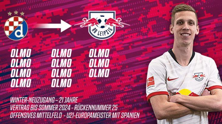 RBライプツィヒがダニ・オルモ獲得を正式発表