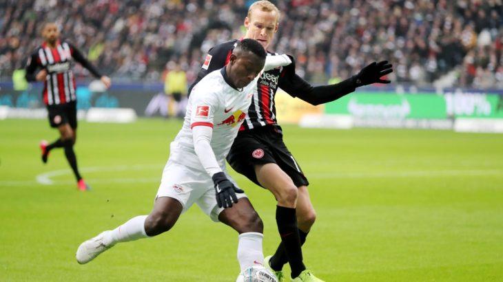 RBライプツィヒ、今季初の無得点ゲームでフランクフルトに敗戦