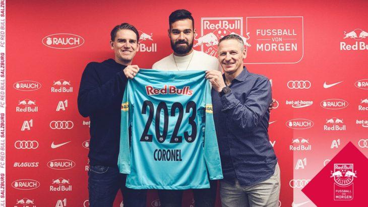 ザルツブルクがカルロス・コロネルとの契約を延長