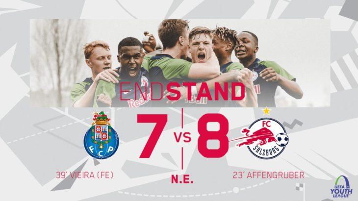 ザルツブルクU19がUEFAユースリーグの決勝トーナメントへ進出(ハイライト動画あり)