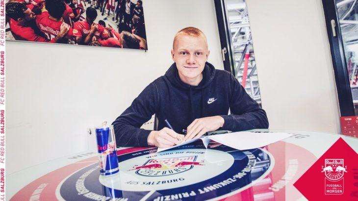 ザルツブルクが19歳の若手有望株と契約延長 憧れの選手はデ・ブライネ