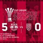 ザルツブルク、ショボスライの絶妙FKなど5得点完勝で国内カップ優勝(ハイライト動画あり)