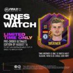 FIFA21でヴェルナーのOTWカード登場が確定