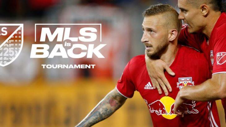 MLSの再開が決定 開催地はディズニーワールドリゾート